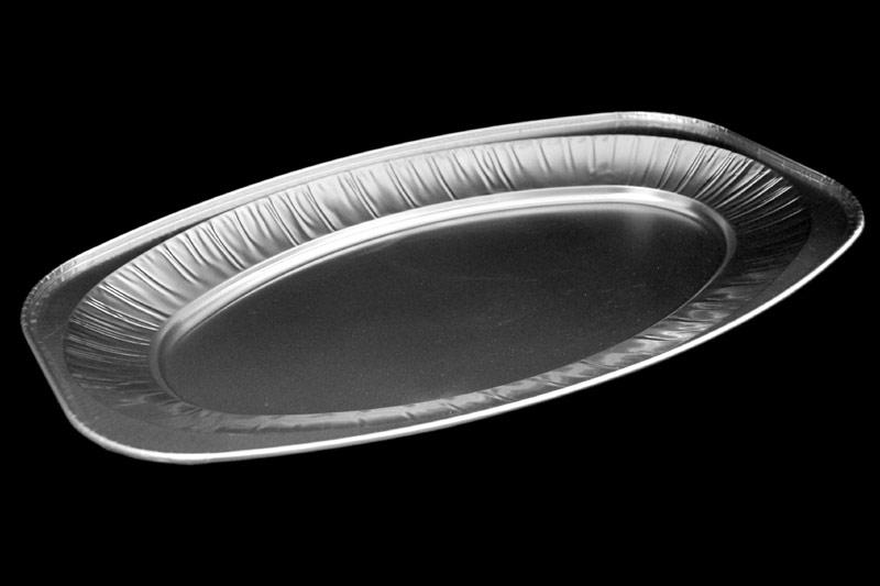 ambalaza za rostilj- aluminijumski oval mali